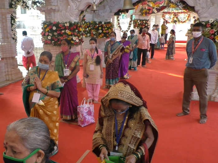 भराडी देवीचा जत्रोत्सव साध्या पद्धतीने होतोय साजरा