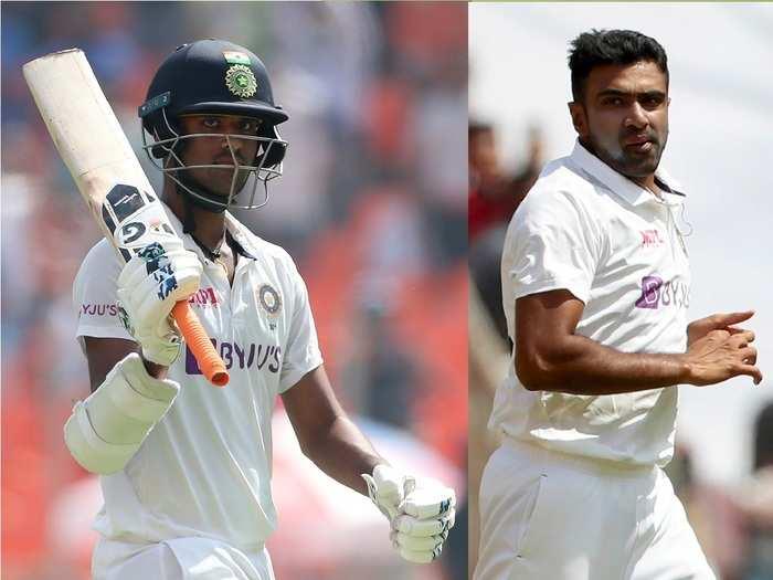 Washinton Sundar and Ravichandran Ashwin