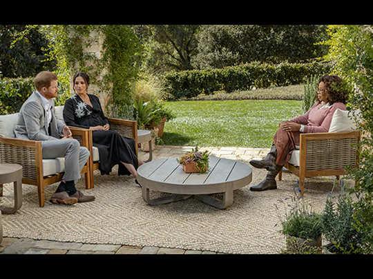 मेगन मार्कल और प्रिंस हैरी का ओपरा विनफ्रे के साथ इंटरव्यू