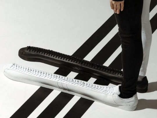 Worlds longest shoes by Adidas