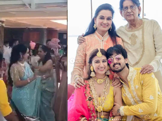 Padmini Kohlhapure and Tutu Sharmas son Priyaank Sharma wedding