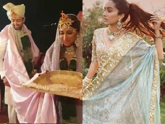 Shraddha Kapoor cousin Priyaank Sharma wedding video
