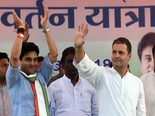 jyotiraditya scindia : why rahul gandhi remembered jyotiraditya scindia after one year