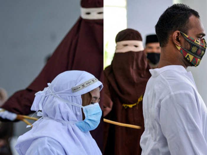 इंडोनेशिया में सजा