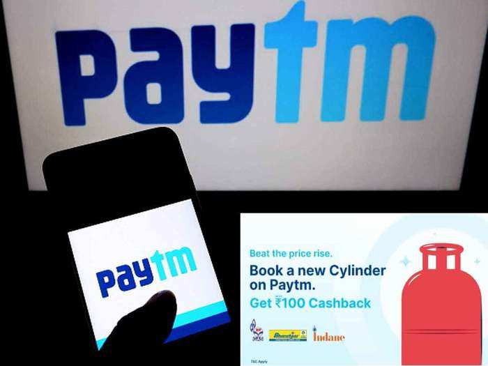 lpg cylinder will cost you rs. 100 cheaper by this way, paytm giving up to rs. 100 cashback
