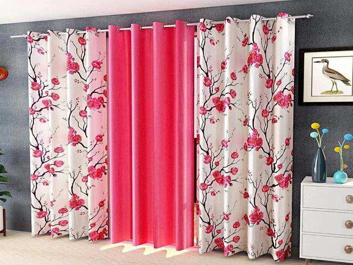 Home Furnishing : होली पर घर को दें नया लुक, लगाएं ये नए Curtain Set