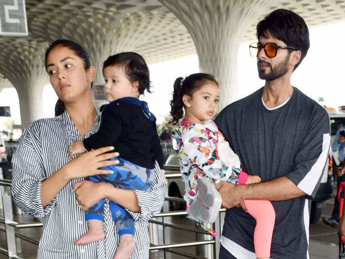 people were surprised to see photos of childrens nanny shared by mira rajput kapoor on social media in marathi
