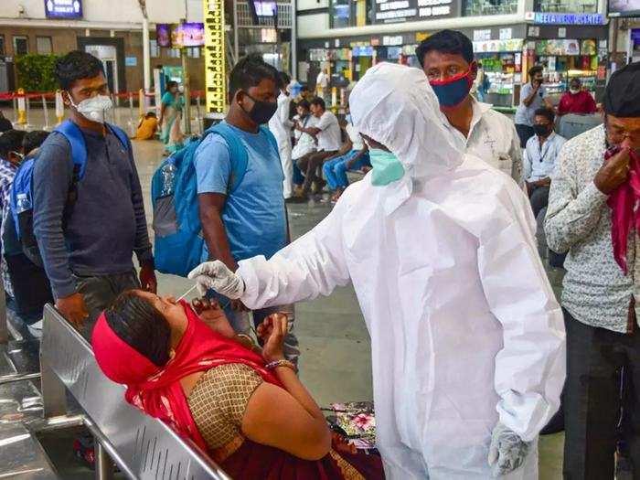 centre sounds alarm as new covid cases cross 23k mark, caution in delhi