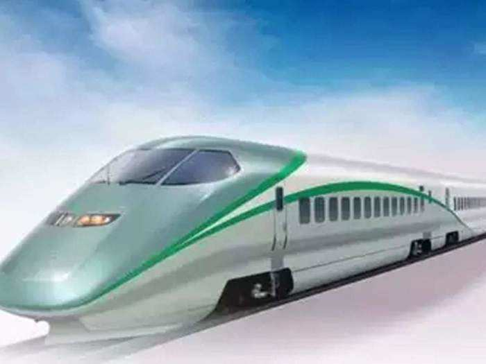 Semi High Speed Train