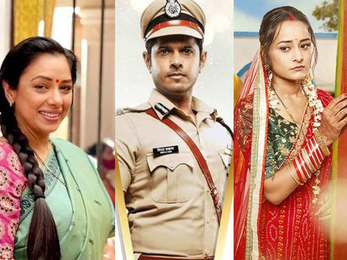 top 5 tv shows trp anupamaa rules no 1 spot saath nibhaana saathiya 2 surprise entry ekta kapoor all shows ousted