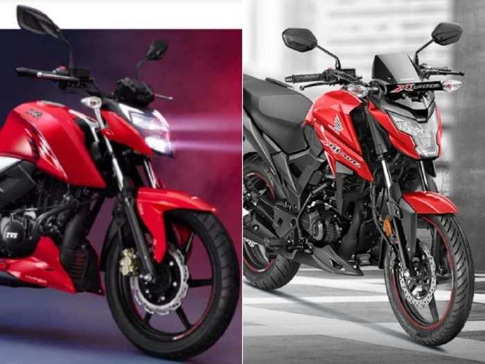 2021 TVS Apache RTR 160 4V या Honda X-Blade: कौन है सबसे किफायती स्पोर्ट्स बाइक? पढ़ें कम्पेरिजन