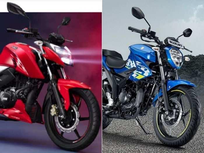 2021 TVS Apache RTR 160 4V या Suzuki Gixxer: आपके बजट में कौन है सबसे धांसू बाइक?