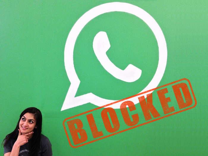 WhatsApp Blocked