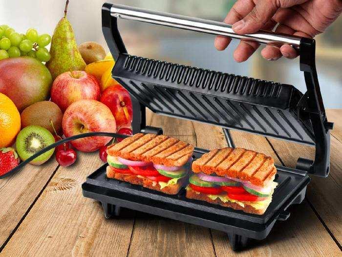Sandwich Maker : इन Sandwich Makers से घर पर मिनटों में बनेगा टेस्टी सैंडविच, डिस्काउंट पर खरीदें