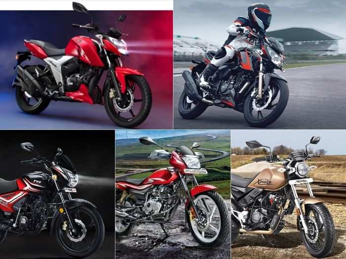 2021 tvs star city plus to 2021 bajaj platina 110 to 2021 tvs apache rtr 160 4v to 2021 hero xpulse 200t latest motorcycles in march 2021