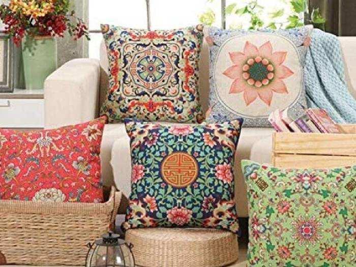 Pillow Covers : इन Pillow Covers से अपने बेडरूम और कुशन को दें खूबसूरत लुक