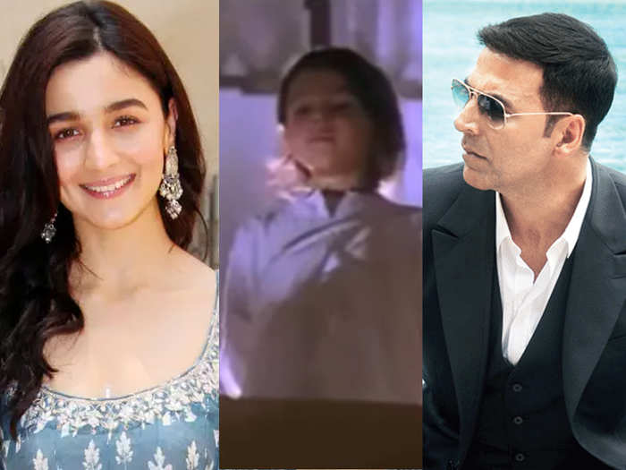 Alia Bhatt birthday special her first onscreen appearance