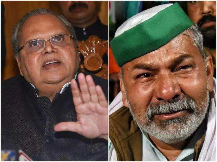 satya pal malik backs kisan andolan, says i saved rakesh tikait from arrest, warns narendra modi