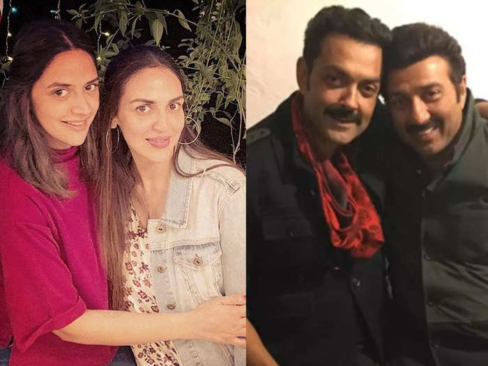 hema malini biography reveals the relationship of esha deol with step brothers sunny and bobby deol