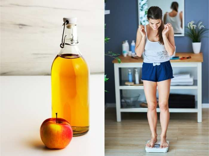 is it better to drink apple cider vinegar in the morning or at night