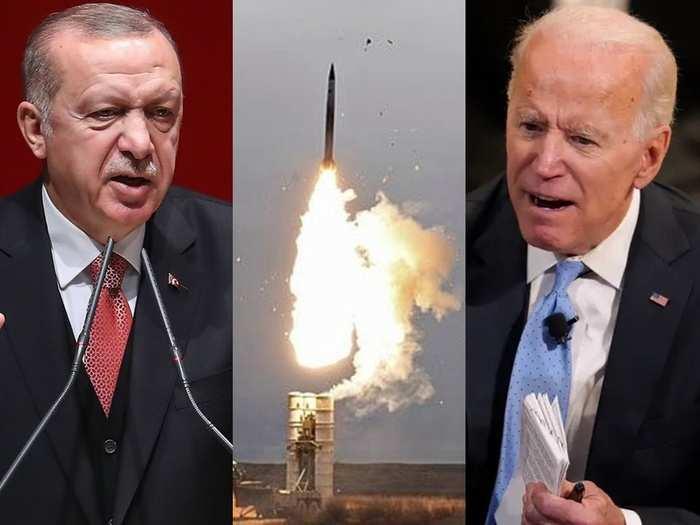 turkey russia talks on s-400 missile system joint production, us sanction on turkey recep tayyip erdogan