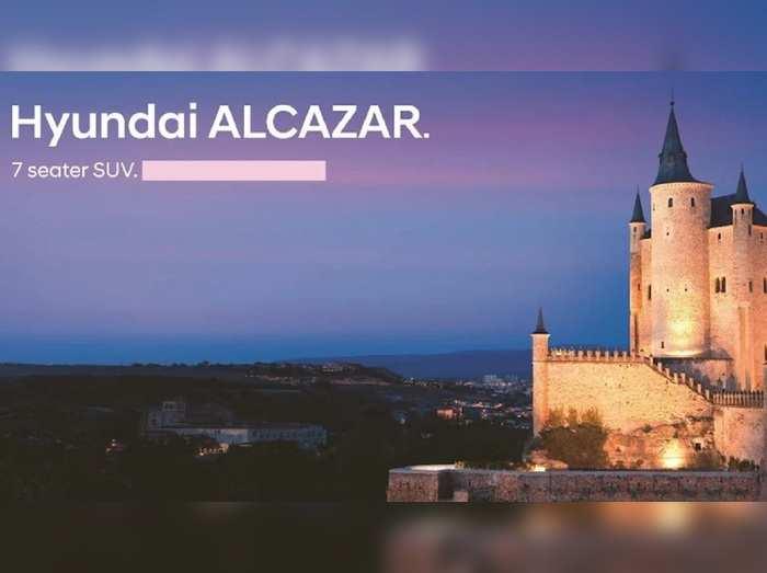 Hyundai Alcazar भारत में 6 अप्रैल को होगी लॉन्च, जानें क्या होगी कीमत