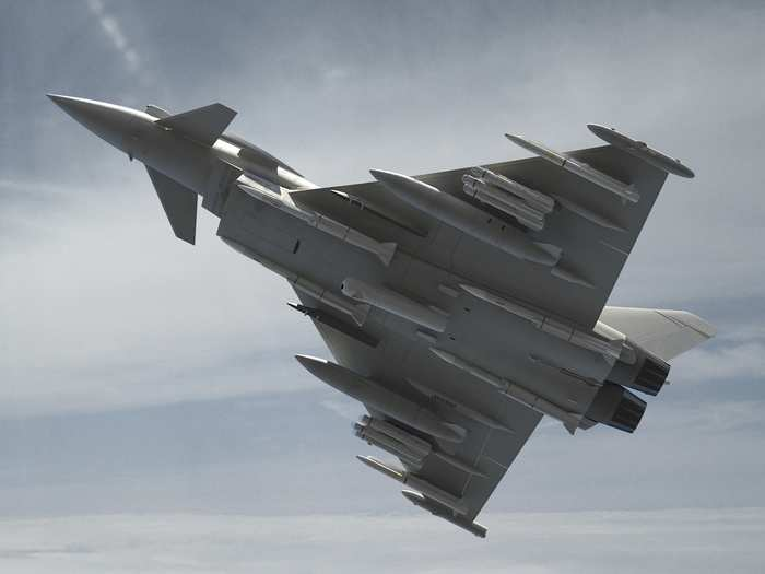 british eurofighter typhoons have used storm shadow cruise missiles for the first time in combat in iraq against isis