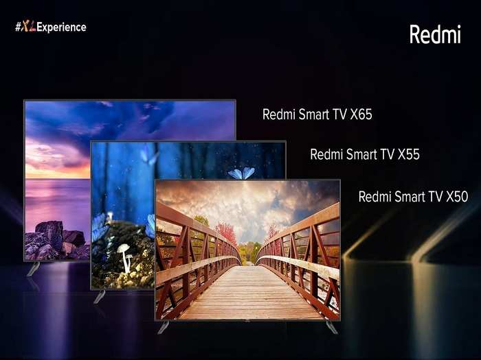 Redmi 4K Smart TV X Series Launched Price India