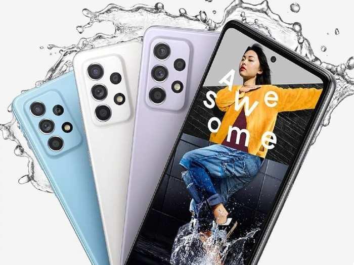Samsung Galaxy A52 Samsung Galaxy A72 Launched Price 3