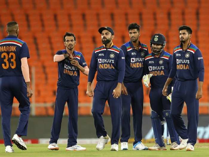 Team India in 2nd t20i vs eng