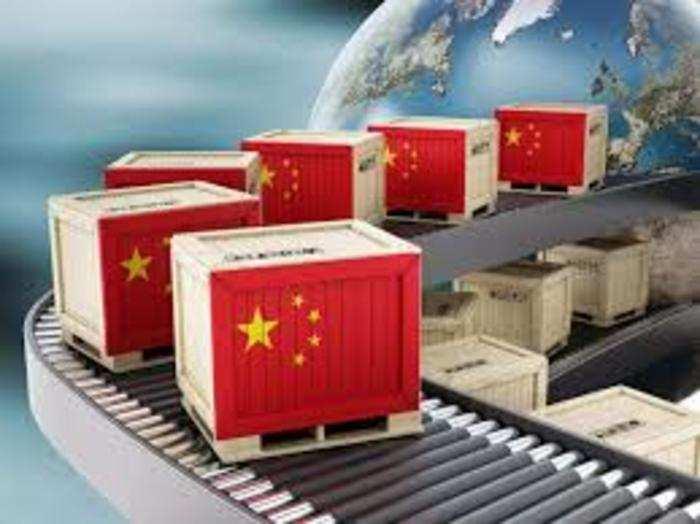 2020 में भारत ने चीन से 58.71 अरब डॉलर का आयात किया।