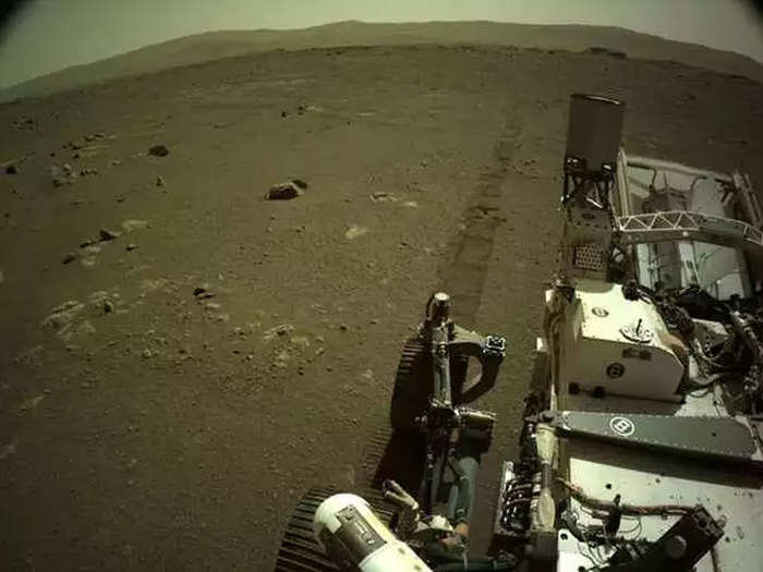 driving on Mars