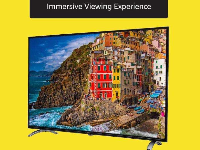Smart TV : मात्र 34,999 रुपए की कीमत में मिल रही है 50 इंच की 4K Ultra HD Smart TV