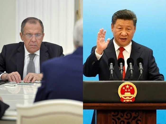 Lavrov Jinping