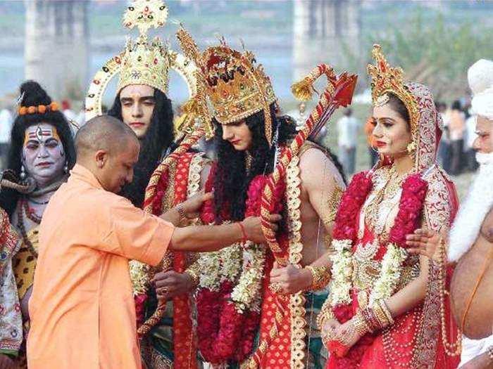 up cm yogi adityanath four years gorakhnath mahant mascot of hindutva