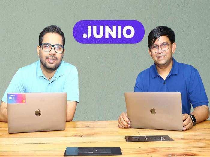 जूनियो के संस्थापक अंकित गेरा और शंकर नाथ