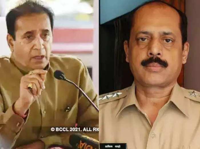 Anil Deshmukh and Sachin Waze