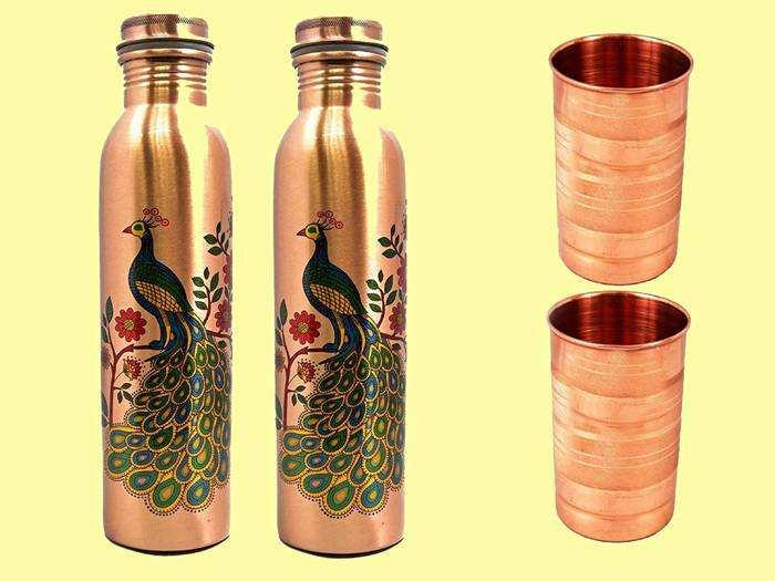 सिर्फ 799 रुपए में खरीदें Copper Water Bottle, इससे पानी पीने के फायदे जानकर आप भी रह जाएंगे हैरान