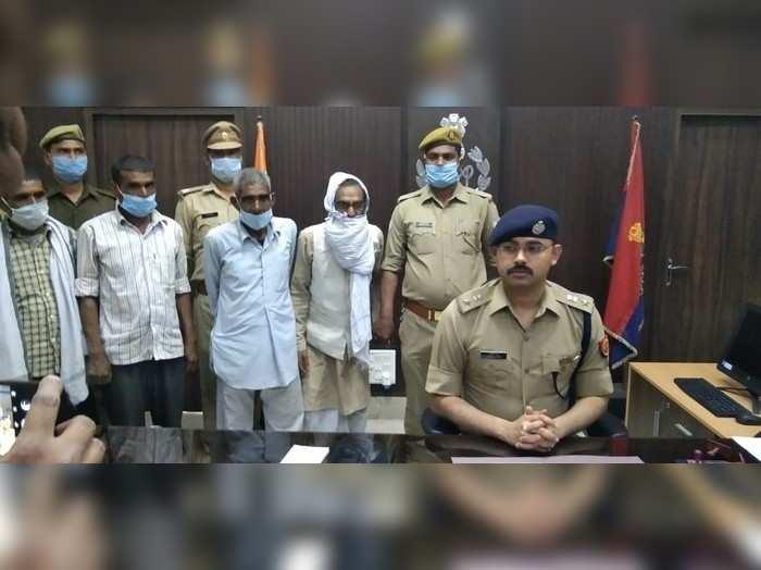 Hardoi news : पंचायत चुनाव को लेकर दर्ज कराया फर्जी रेप का मुकदमा, 5 लोग गिरफ्तार