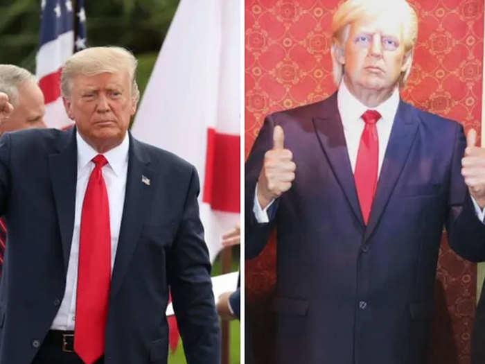 Donald Trumps wax statue