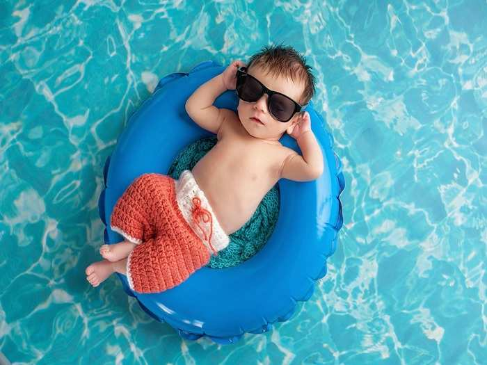 tips for newborns first summer in hindi
