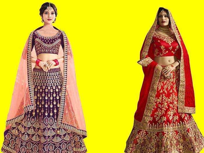 Lehenga Choli : सेलेब्रिटीज को भी टक्कर देगा ये Wedding Lehenga, पहन कर लगेंगी चाँद की नूर