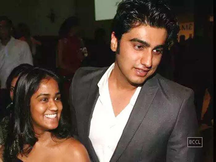arjun kapoor and arpita khan love story a tale of teenage love and break up