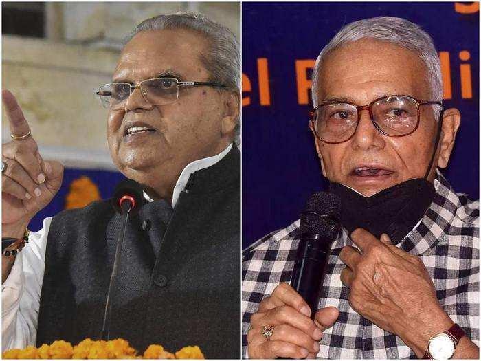 satya pal malik and yashwant sinha political profile