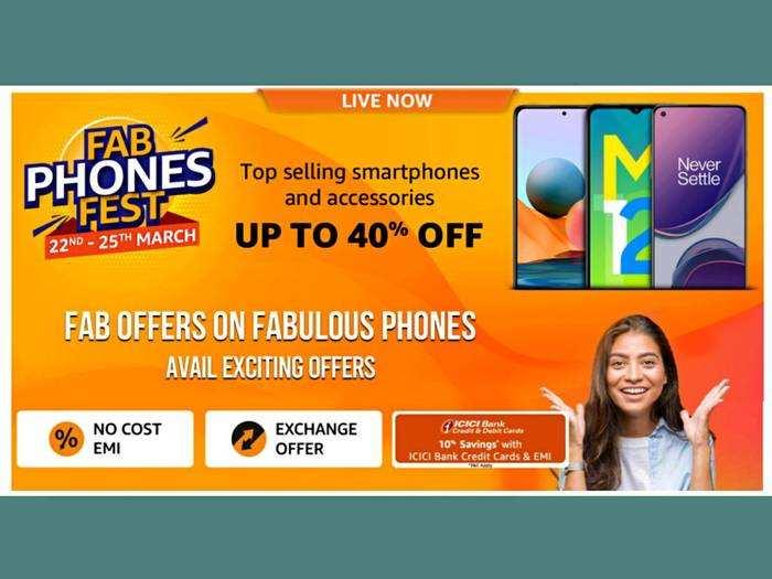 Smartphone Sale 2021 : Amazon फिर लेकर आ गया Fab Phones Fest सेल, कम दाम में खरीदें बेस्ट स्मार्टफोन
