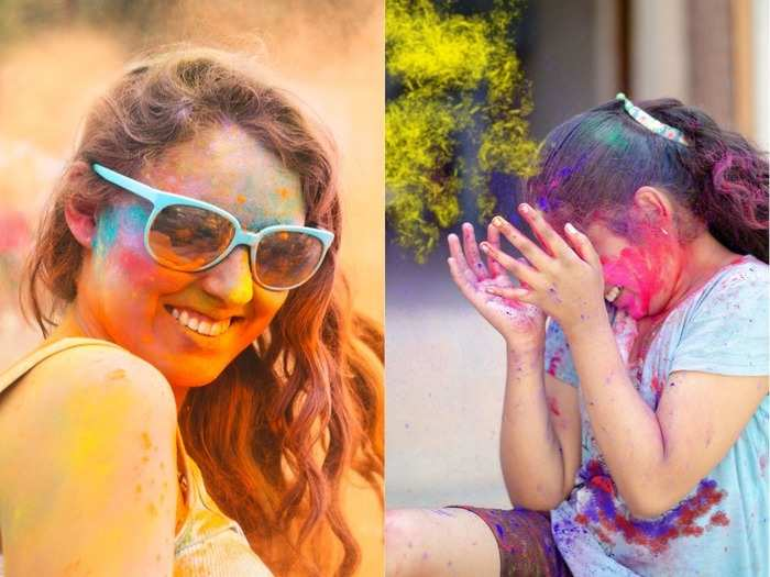 holi 2021 first aid if colours get into your eyes ears or mouth