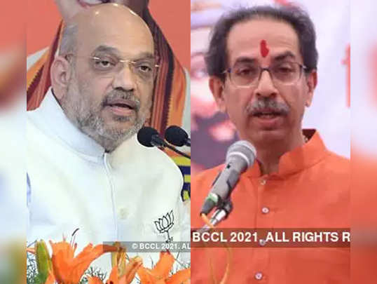 amit shah - uddhav thackeray