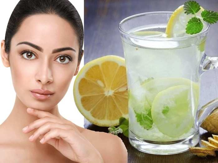 natural remedies benefits of drinking lemon water for skin and hair in marathi