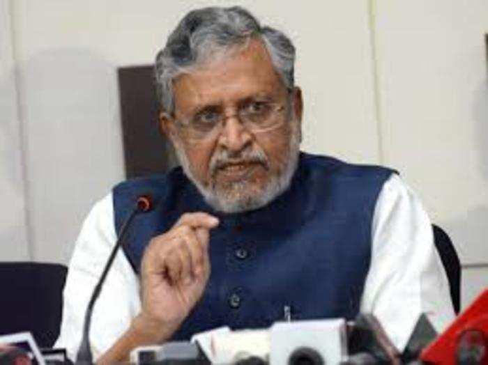 भाजपा नेता सुशील मोदी (फाइल फोटो)