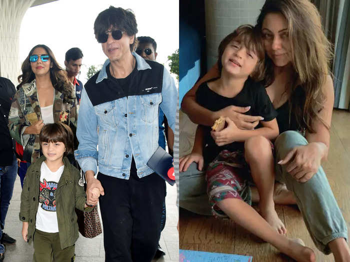 gauri khan had once revealed that shah rukh khan keeps son abram away from her